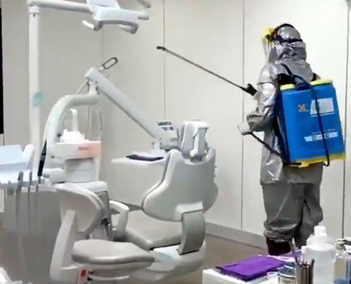 COVID - 19 has no fighting chance at Silver Oaks Dental Clinic